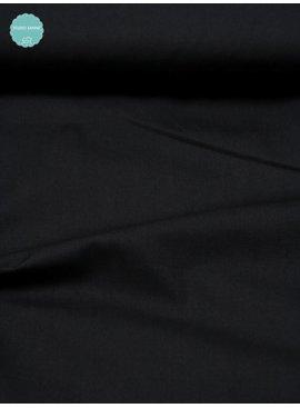 8€ p/m - Zwart Candy Cotton - Effen Katoen