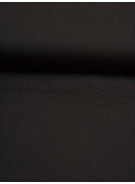 7€ p/m - Zwart - Effen Katoen
