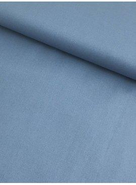 7€ p/m - Blauw - Effen Katoen