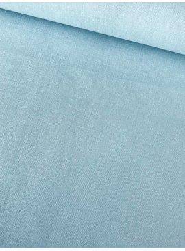 7€ p/m - Lichtblauw - Effen Katoen