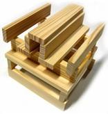 Kapla Kapla- doos 200 plankjes- blank