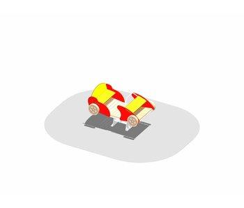 Raceauto beweegbaar