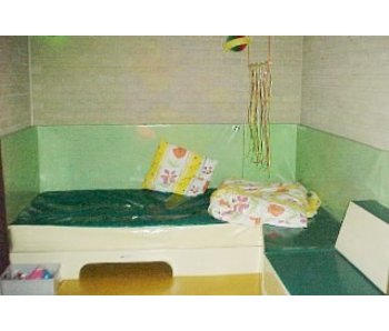 Wandmat recht, 4cm, Polypress, Bisonyl