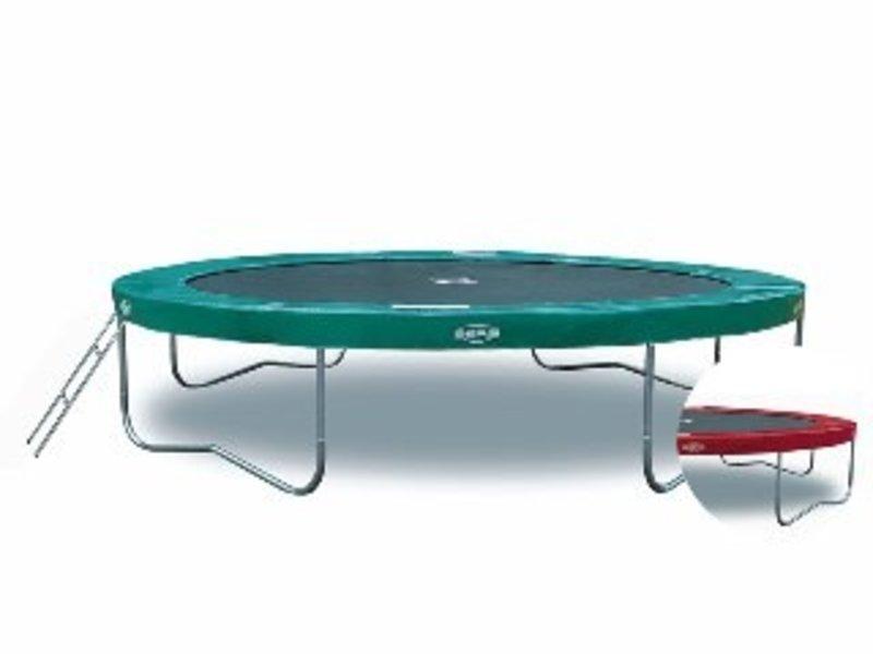 Berg Toys BergToys trampoline Elite 330-rood of groen    330cm