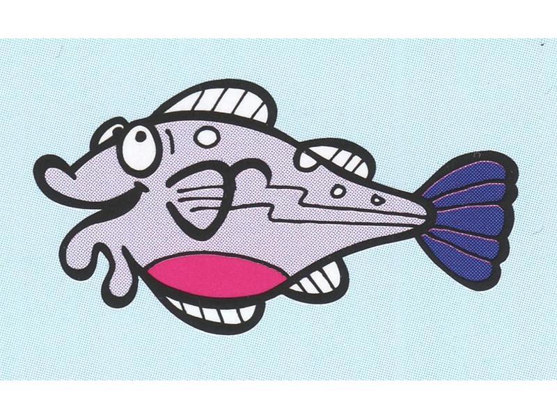 Atelier Michel Koene Decoratieplaat groot- Vis