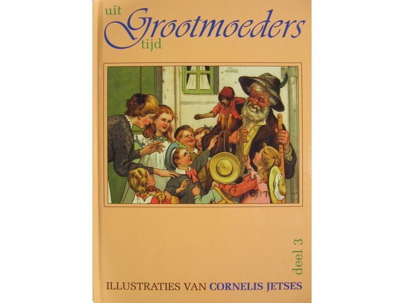Boek Uit Grootmoeders Tijd - deel 2, met liedjes 28 x 20 cm