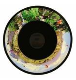 """OPTIkinetics Effectwiel beeld 9""""(groot) thema: African Safari  Ø 23cm"""