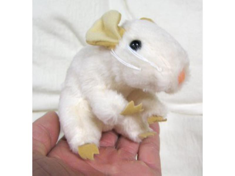 Baby muis handpop   7cm