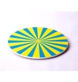 Draaischijf kleurenmix   15cm