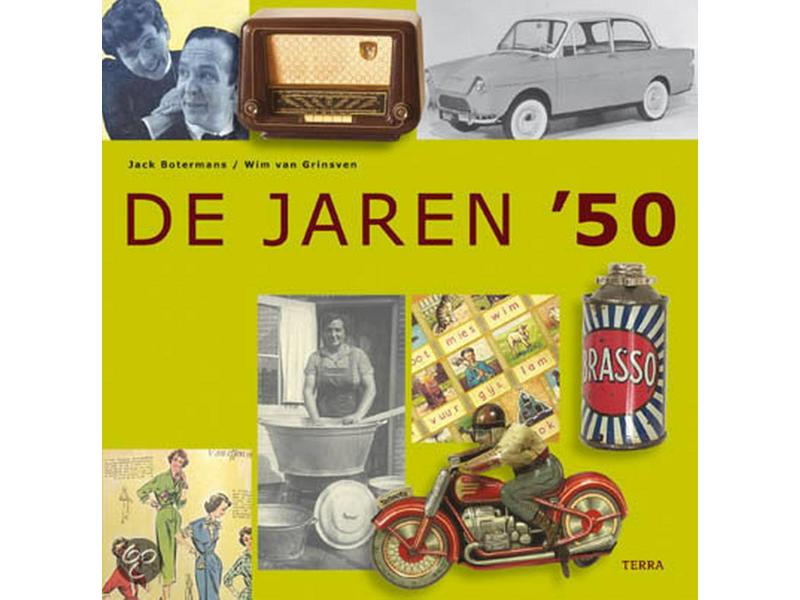 Boek de jaren 50   25x25cm
