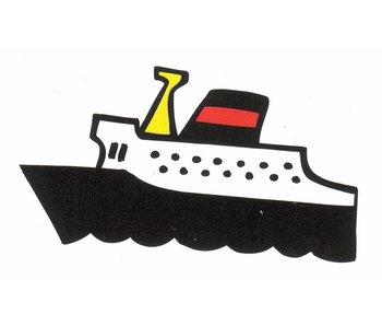 Decoratieplaat groot- Boot