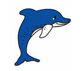 Decoratieplaat groot- Dolfijn