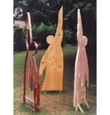 Hemeldanser metaal met koperen buizenklokken