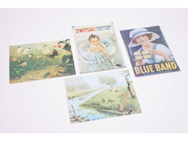 Edu Books & Training 4 sfeervolle themaplaten