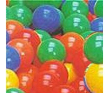 Ballenbadballetjes-  mix 5 kleuren 1000st