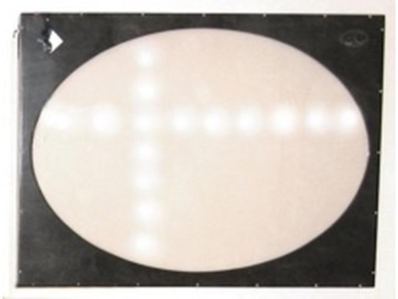 Lichtwand interaktief   125 x 90cm