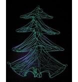 IJspegel denneboom   66x53cm
