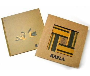Kapla- boekje en 40 plankjes- groen-geel