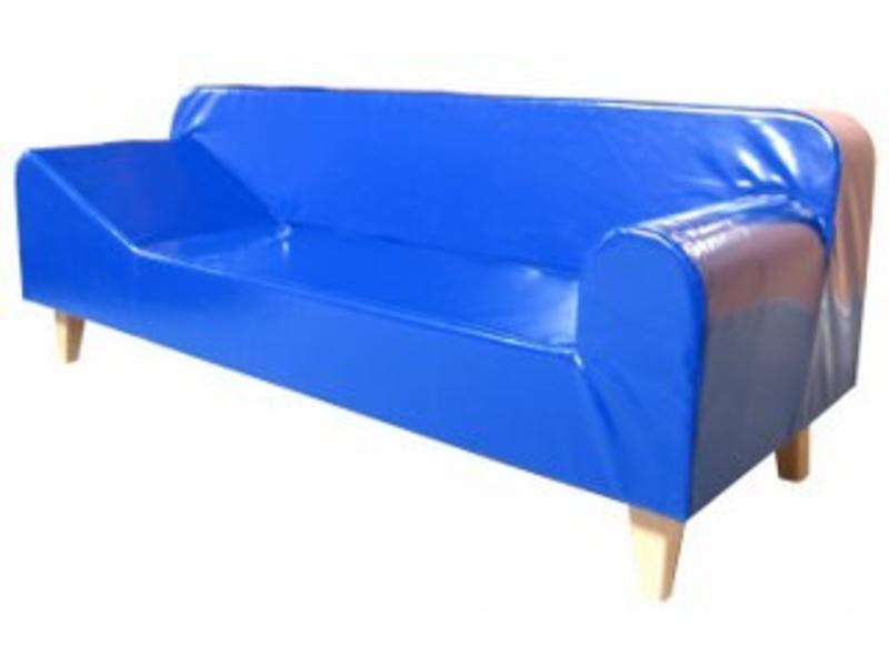 Atelier Michel Koene Cleo zijligbank, Bisonyl   200cm x zitd 45 zith 40cm