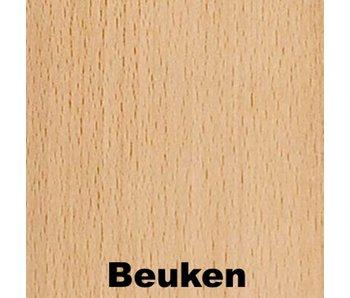 Meerprijs tafelblad Berken met HPL beuken of ahorn
