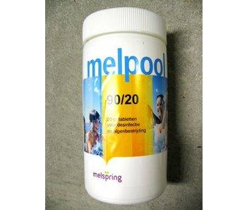 Chloortablet Melpool voor zwembad