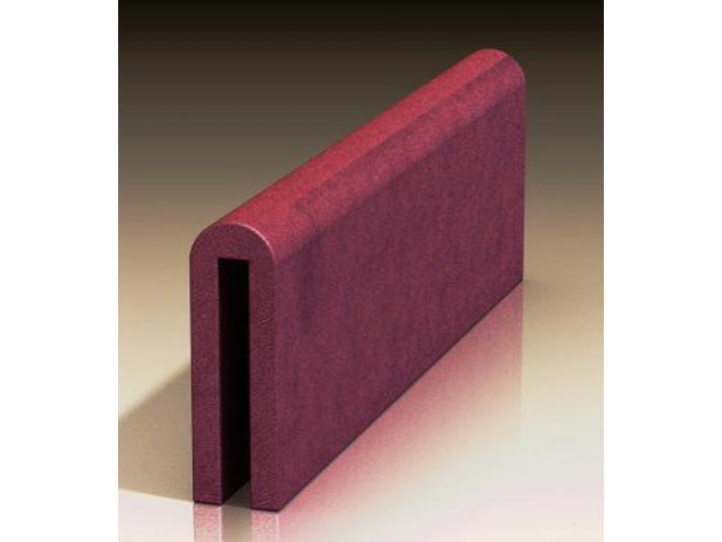 Atelier Michel Koene Bedhekzadel kort, Stamskin 80/100 x 30/40cm