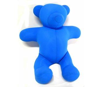 Mio beer klein- blauw kussentje