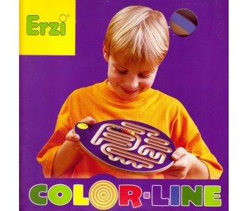 Balansplank Colorline geel rood groen of blauw