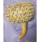 Shaker met net van boomkern- 15 cm