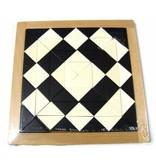 Magisch mozaiek zwart-wit