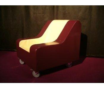 Meerpijs stoel verrijdbaar