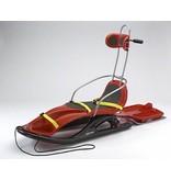 Slee kunststof- Snow Comfort hoge rugleuning   groot model