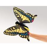 Handpop Vlinder groot   37,5cm