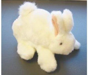Handpop Baby Konijntje- wit