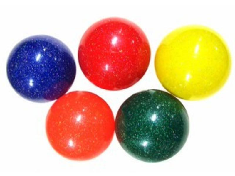Bal glitterbal zacht   Ø 10cm