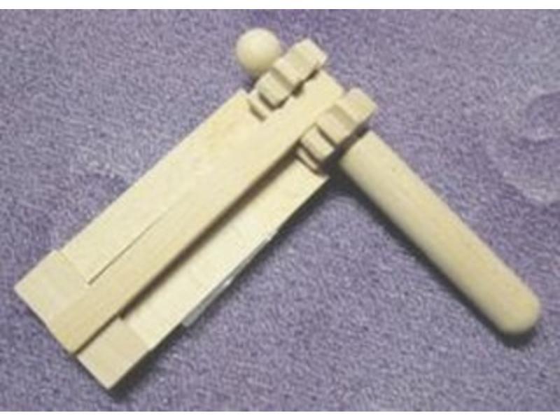 Ratel mini gekleurd   12x12cm