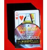 Extra grote speelkaarten A4   20 x 30cm