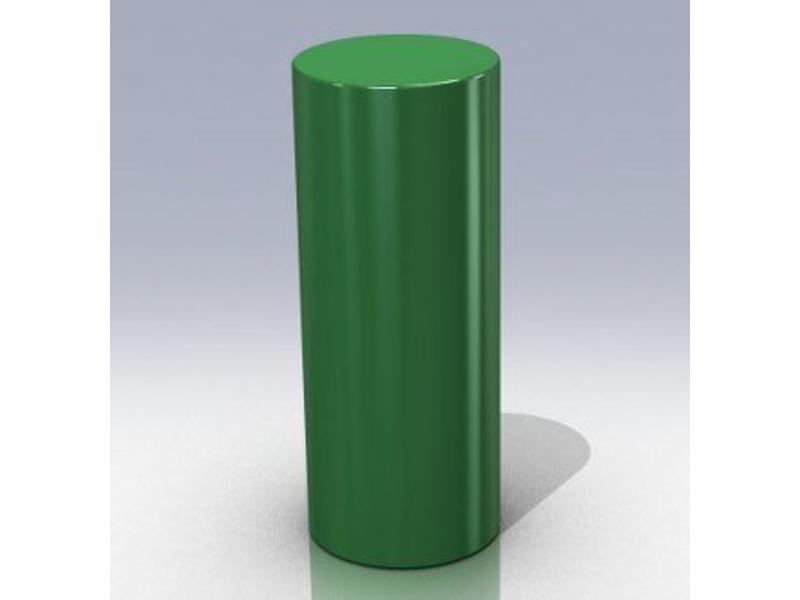 Atelier Michel Koene Cilinder, Bisonyl   Ø  40 x 100cm