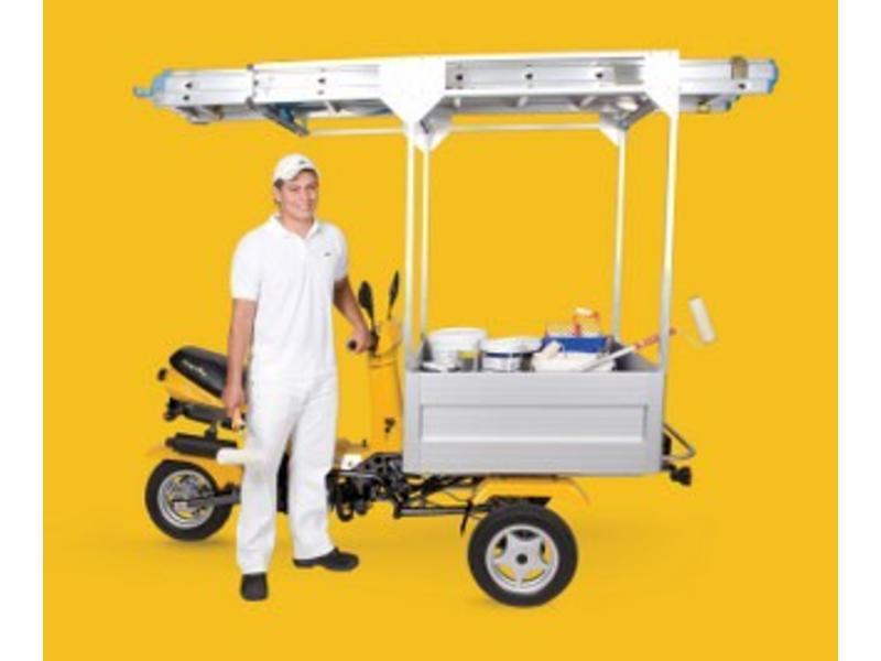 CargoBee Cargobee TR50-bakscooter   49,5cc, 45km/u