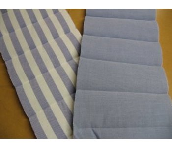 Gestepte WZ-stof 140gr, polyester vulling 100