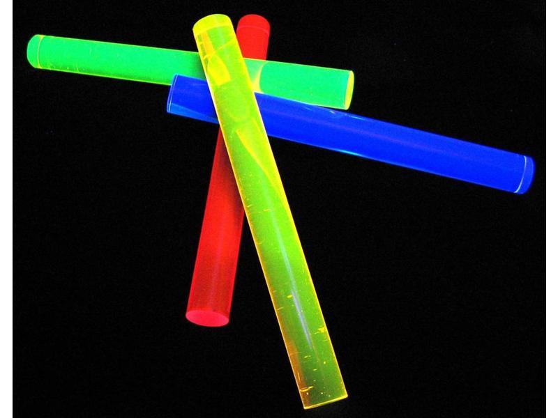 Atelier Michel Koene Fluostaven set 4 stuks    20 mm, lengte 20 cm