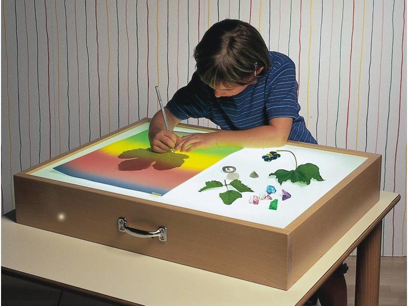 Dusyma Lichtbak - opzet  69,5 x 54,5 x 12cm