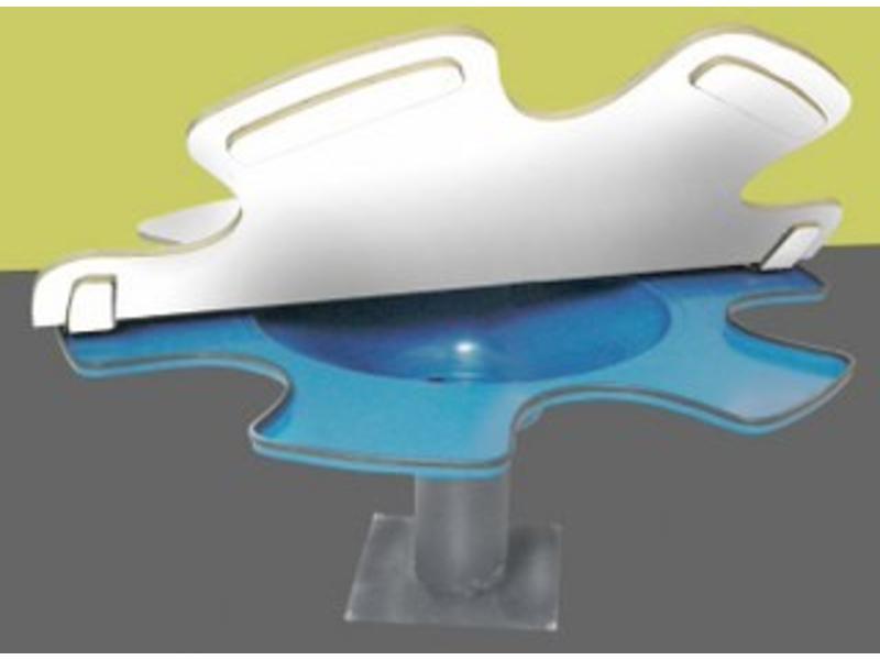 Atelier Michel Koene Blad t.b.v. zandwatertafel ongeschikt voor buiten    170cm
