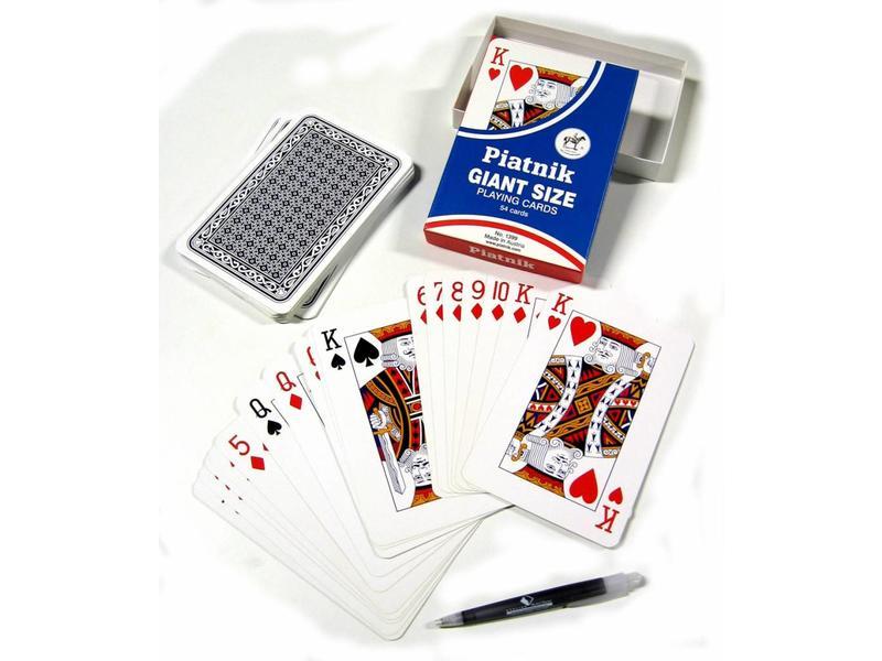 Speelkaarten-groot   18 x 14cm