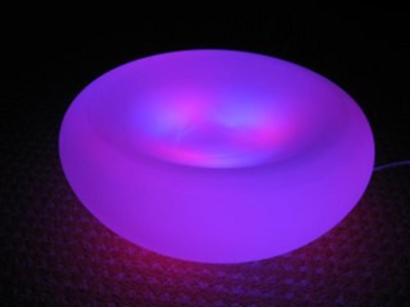 LEDlamp model schaal glas   30 cm