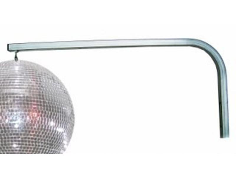 Muurbeugel voor spiegelbol   ong. 78x36cm