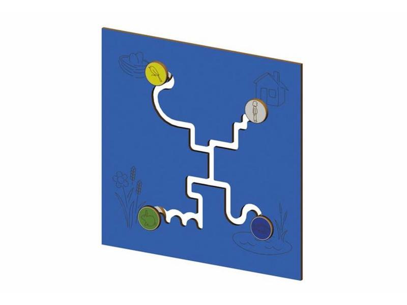 Eibe Ibondo Speelbord Labyrint   90x89x2cm