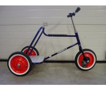 Fietsje Trike Bike Express- driewieler met staplank