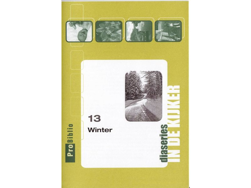 ProBiblio DVD - Diaserie Winter in  A5 koffertje