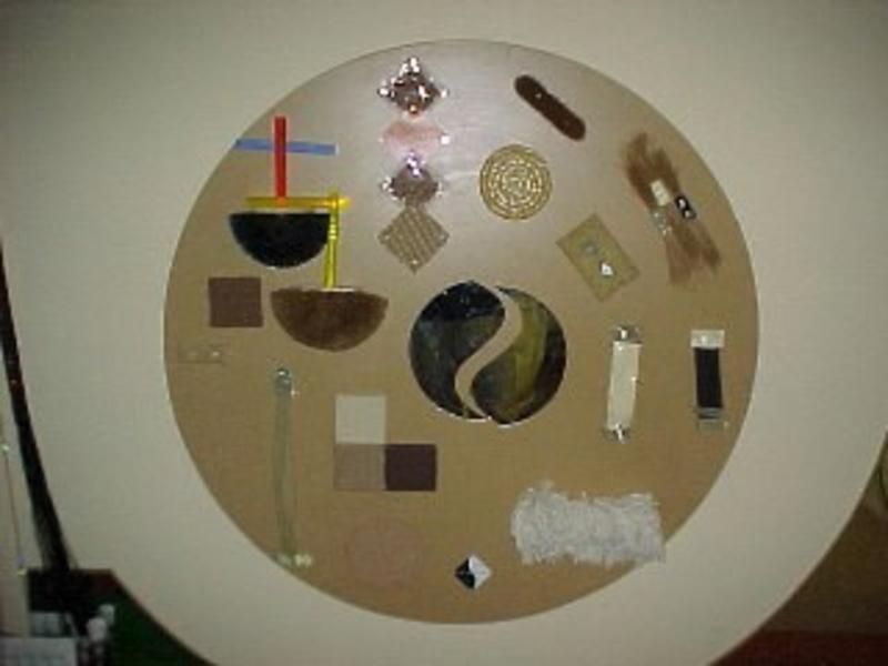 Atelier Michel Koene Doe Tastwand rond    120cm